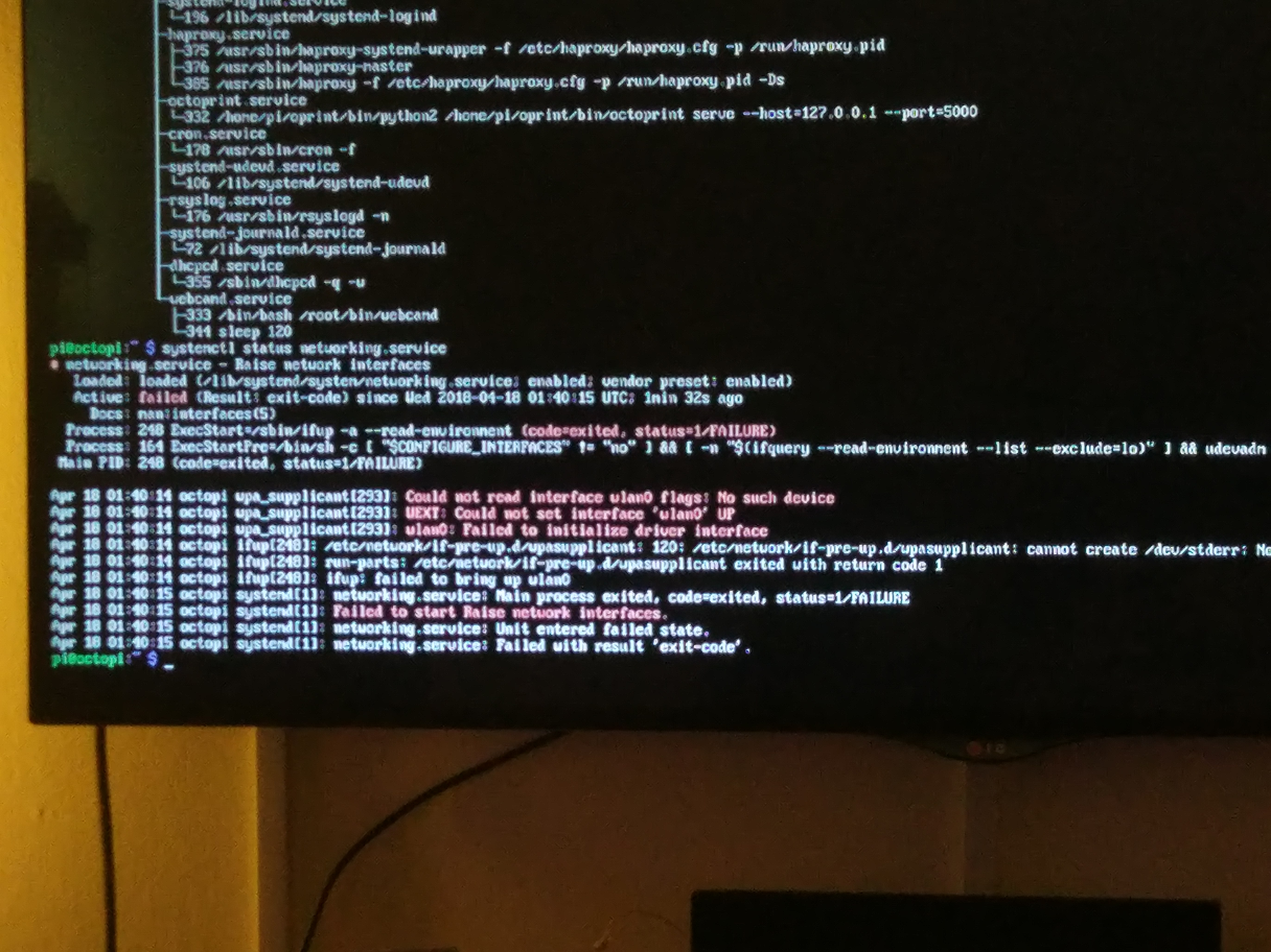 Wlan0 not detected on pi0 with build 0 15 - Get Help - OctoPrint