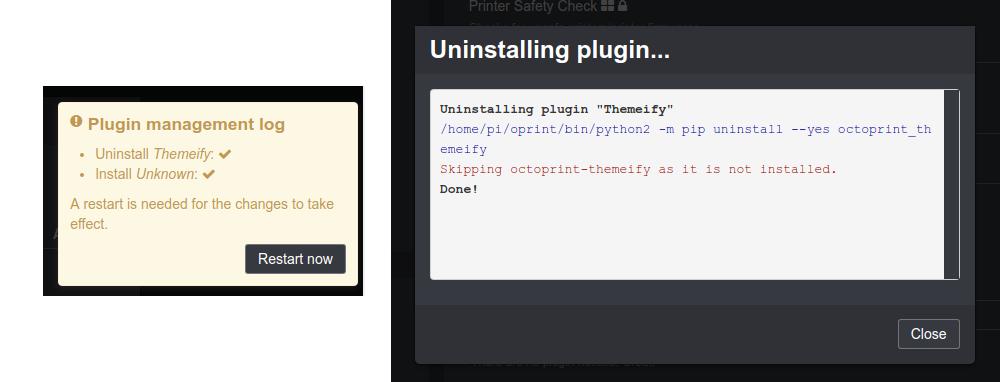 Plugin installation: Unknown - Get Help - OctoPrint Community Forum