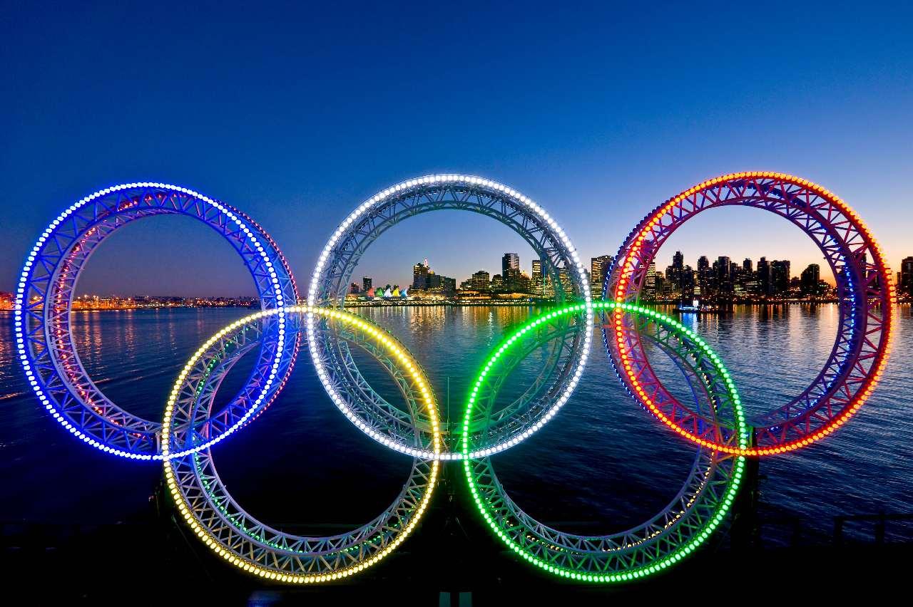 фотографии красивая картинка олимпийских колец прежде, это были
