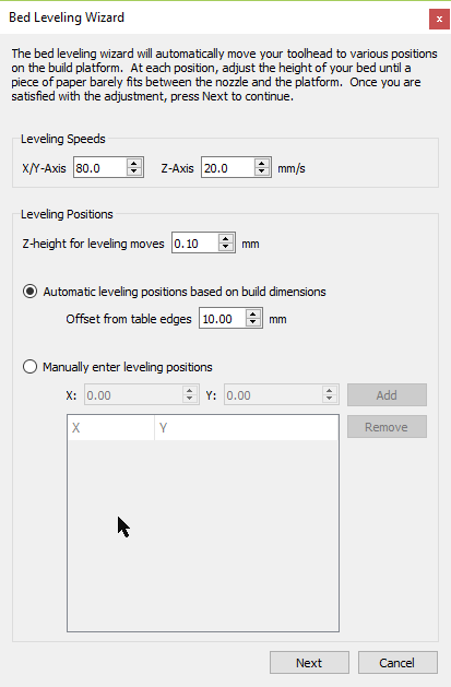 Manual Bed leveling wizard plugin suggestion/request - Plugins