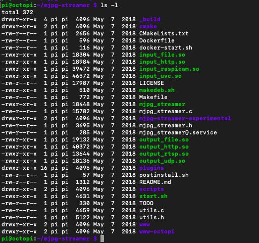 Octoprint webcam suddenly stopped working, V4L interface