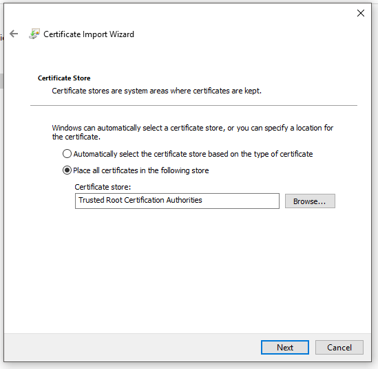 Restrict Access to OctoPi Utilizing SSL Client Certificates