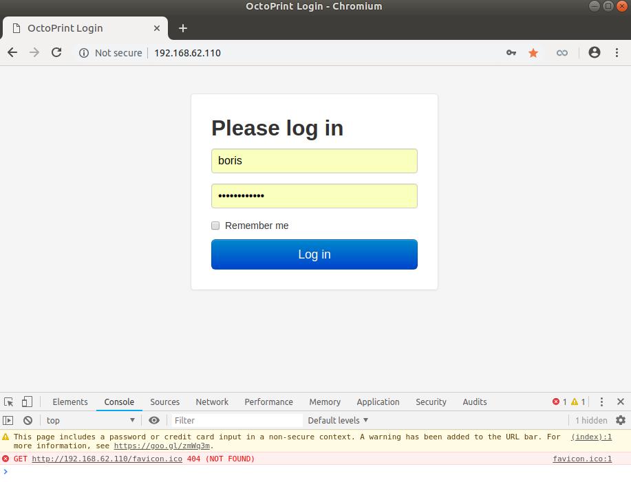 Site octoprint webinterface caching - Get Help - OctoPrint